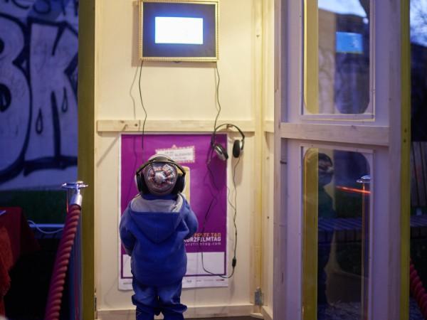 Telefonzellenkino in Dresden